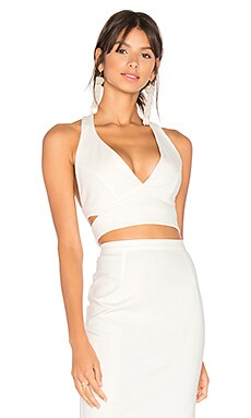 Kamille Crop in White