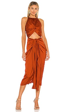 Reni Knotted Dress Andrea Iyamah $225