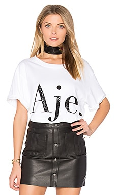 Aje Tee in White
