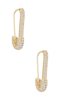 Safety Pin Earring Adina's Jewels $68 BEST SELLER