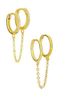 CONJUNTO DE AROS Adina's Jewels $37