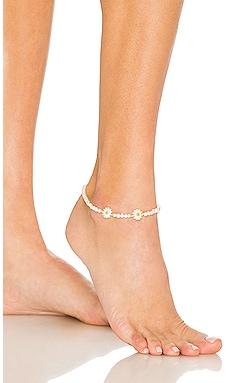 Daisy Beaded Anklet Adina's Jewels $30
