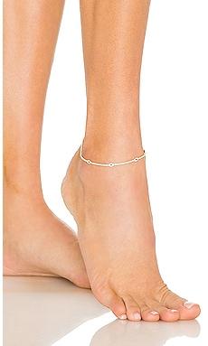 Evil Eye Tennis Anklet Adina's Jewels $98