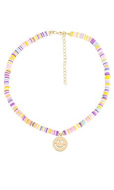 Bead Smiley Face Necklace Adina's Jewels $33
