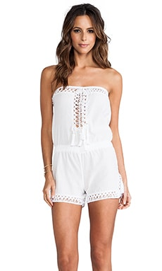 Helena Romper in White