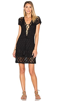 Aerin Short Dress in Black