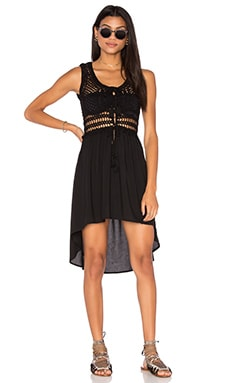 Anna Kosturova Marrakesh Mini Dress in Black