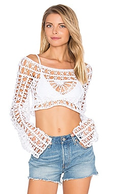 Dreamcatcher Top in White