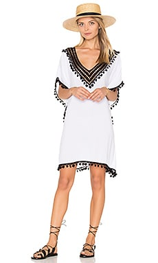 Marrakesh Caftan in White & Black