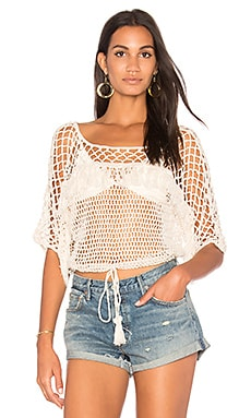 Bayshore Blouson Crop Top