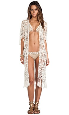 Tassel Duster in Cream