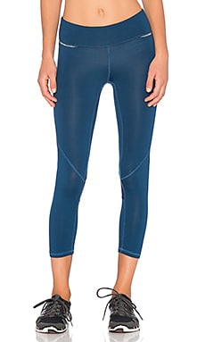 ALALA Captain Crop Tight in Poseidon Blue