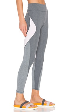 ALALA Edge Ankle Tight in Heather Grey & Petal