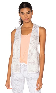 ALALA Woven Vest in White Shadow