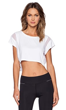 ALALA Crop Tee in White