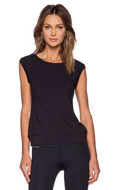 ALALA Open Back Top in Black