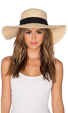 ale by alessandra Altamira Hat in Natural & Black