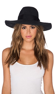 ale by alessandra Bel Air Hat in Black