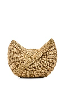ale by alessandra Bonete Bag in Natural & Gold