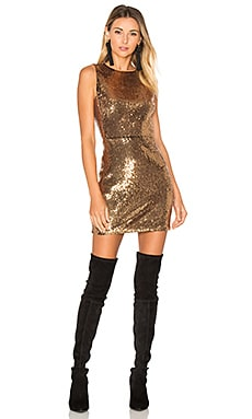 x REVOLVE Lorena Dress in Bronze