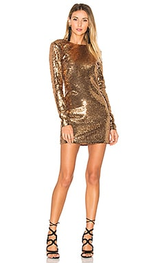 x REVOLVE Julinha Dress in Bronze