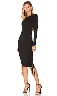 x REVOLVE Tatiana Dress in Black Night