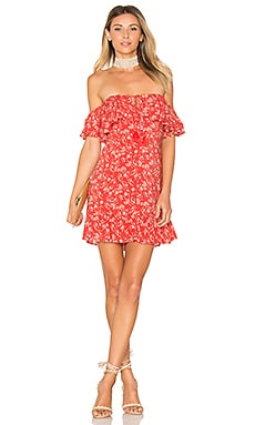 x REVOLVE Lola Mini Dress in Red Margarita