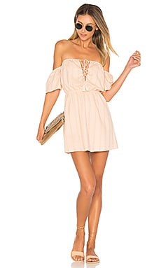 Gabriela Mini Dress in Pink Champagne