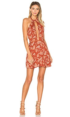 x REVOLVE Bia Dress in Red Daffodil
