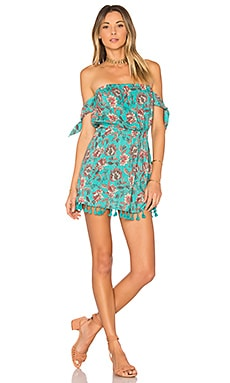 Maria Dress in Turquoise Floral