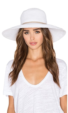 ale by alessandra Praia Hat in White