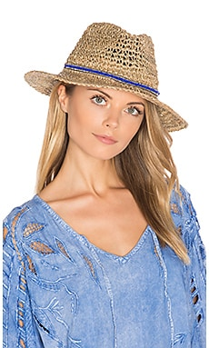 Trancoso Hat in Natural & Royal