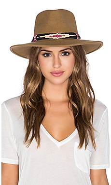 ale by alessandra Taos Hat in Tobacco