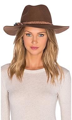 ale by alessandra Gaucho Hat in Brown