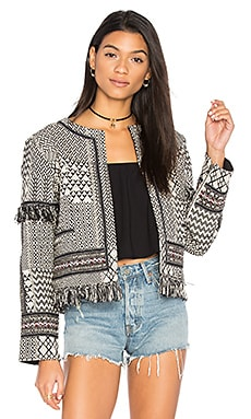 Marcella Jacket in Tribal Ink