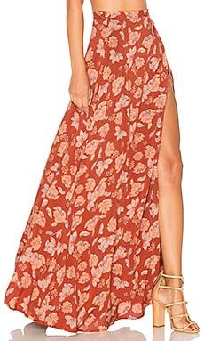 x REVOLVE Brigida Maxi Skirt