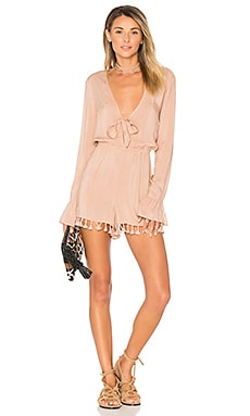 Livia Romper in Latte