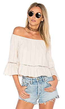 Fernanda Top in Blanc Bisque