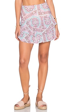 Prairie High Waist Mini Skirt