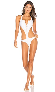 Spring Training Zip Monokini ale by alessandra $161