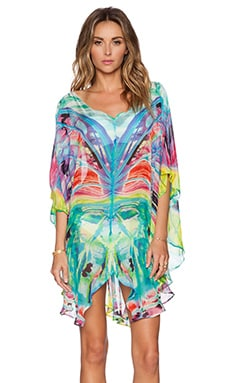 ale by alessandra Silk Butterfly Tunic in Multi