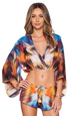 ale by alessandra Crop Kimono in Multi