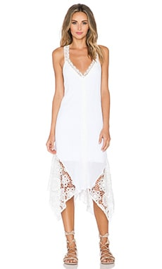 ale by alessandra White Sands Shift Dress in White