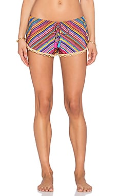ale by alessandra Drawstring Short in Bahia Coast