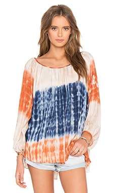 Split Back Tunic Cover Up in Tie Dye