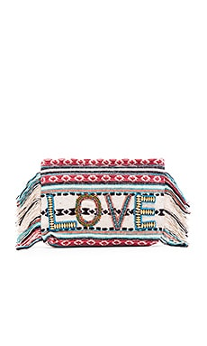 BOLSA DE MÃO CLUTCH ALL YOU NEED IS LOVE