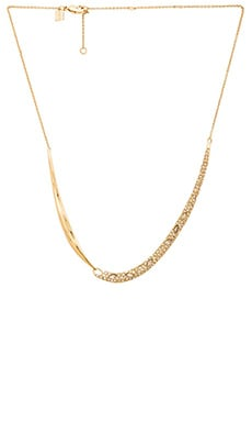 Alexis Bittar Encrusted Drape Pendant Necklace in Gold