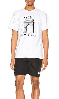 Washington Square Tee ALIFE $48 NEW