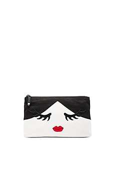 Stace Face Wink Cosmetic Bag in Multi