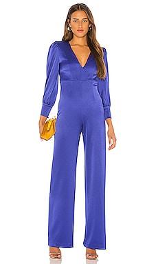 Lisa Deep V Jumpsuit Alice + Olivia $440